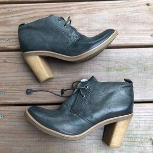 Bernardo Allana Lace up leather ankle boots